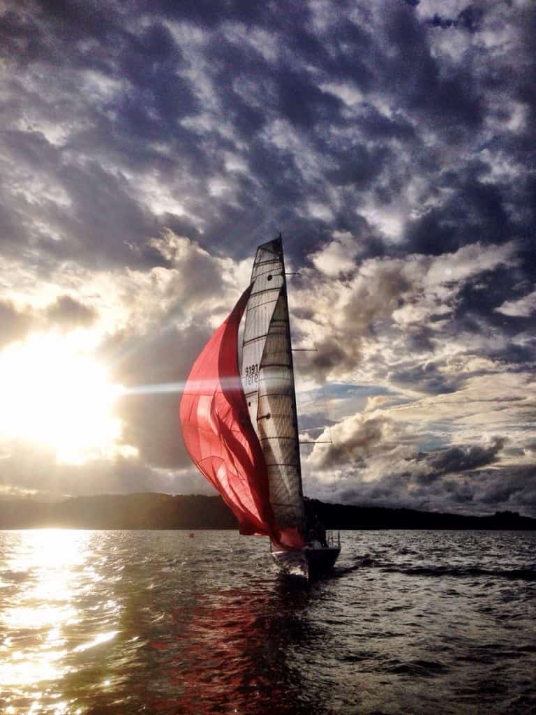 You too could be out sailing at Kerikeri: it is a very cheap sport for crew!