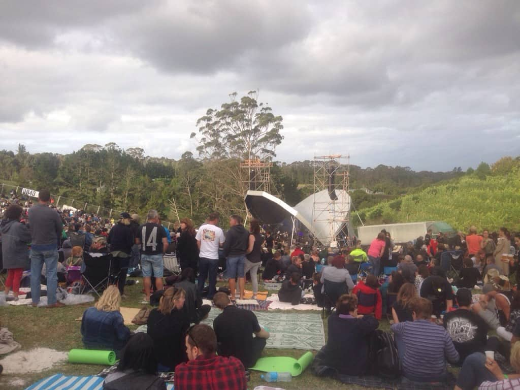 There was plenty of room for picnic blankets and chillaxation, despite the sell-out crowd.