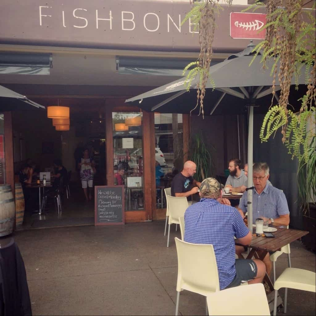 Fishbone Cafe and Wine Bar, Kerikeri.