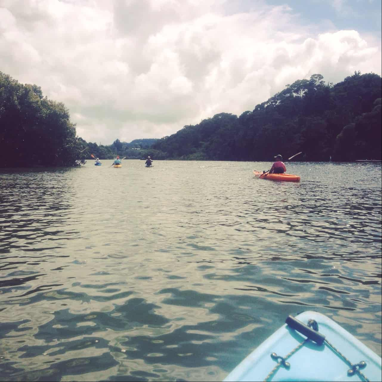Although Kerikeri is on the water, it's a wide river inlet rather than a beachy place.