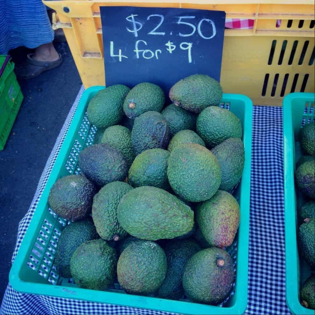 Avocados at the Bay of Islands Farmers Market, Kerikeri