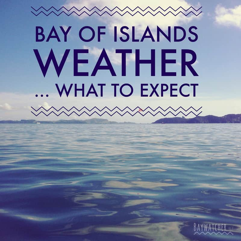 Bay of Islands weather - what to expect