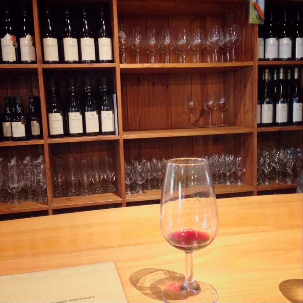 Make sure you have a wine tasting at Marsden Estate winery - it's a good idea to do this before your meal.