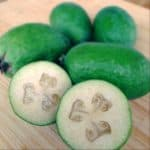 What are feijoas? No, they're not naked kiwi fruit!