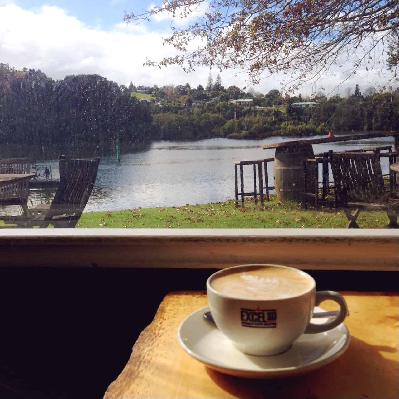 I love the stunning view from The Pear Tree, overlooking the Kerikeri Inlet.