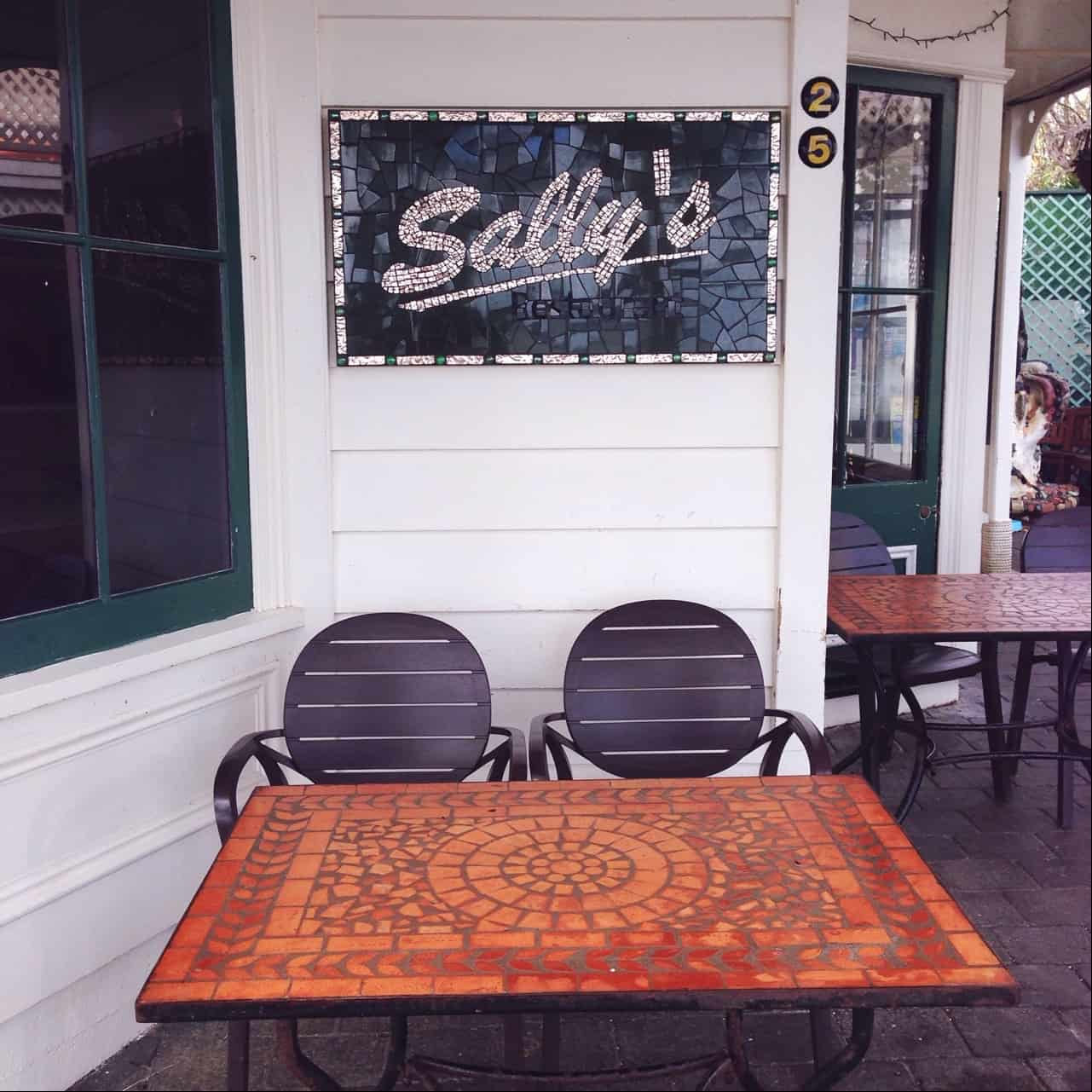 Sally's Restaurant on Russell's waterfront has been operating for decades.
